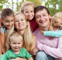 Социальная помощь семьям с приемными детьми