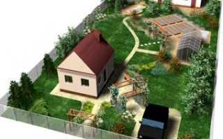 Расстояние дома от соседнего участка