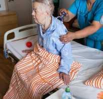 Что положено лежачим больным после инсульта бесплатно