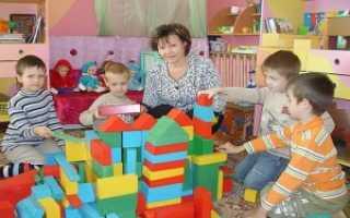 Какие льготы положены воспитателям детских садов